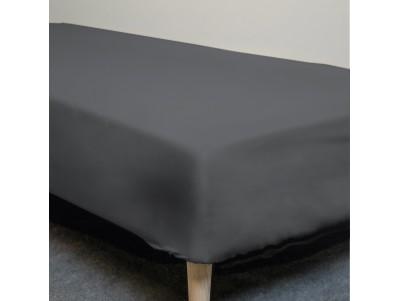 Faconlagen - Sort - 80x200 cm.