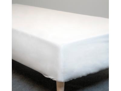 Faconlagen - Hvid - 90x210 cm.