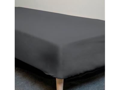 Faconlagen - Sort - 90x200 cm.